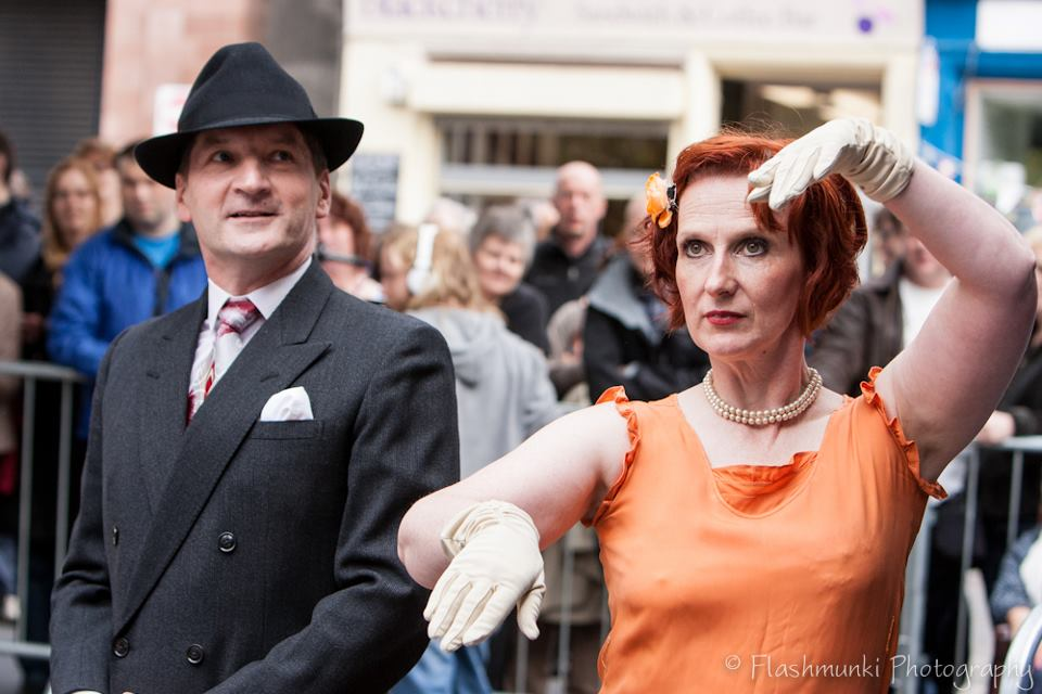 Fly Right - dance hosts of the World Record Tea Dance attempt in Edinburgh 2012