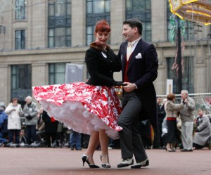 World Record Tea Dance, in Glasgow, December 2008